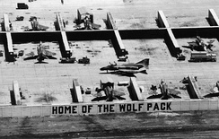 8th TFW F-4s in revetments at Ubon, 1967