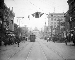 Fayetteville Street during the 1910s