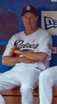 Maddux in the dugout in 2008