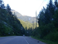 Fraser Canyon along British Columbia Highway #1 between Hope and Yale