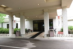 Entrance of IHG Army Hotels on Fort Gordon