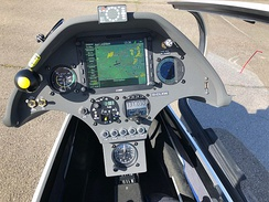 Instrument panel for a sailplane. Click on image to see a detailed description (Schempp-Hirth Ventus 3)