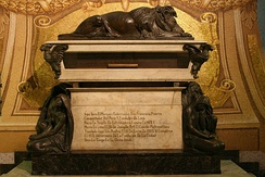 Tomb of Francisco Pizarro in the Lima Cathedral