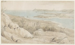 King George Sound, painted in 1803 by William Westall