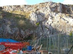 The rocks of Lummaton Quarry in Torquay in Devon played an early role in defining the Devonian period.