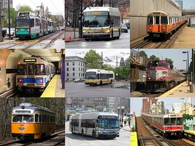 The Massachusetts Bay Transportation Authority, serving Greater Boston