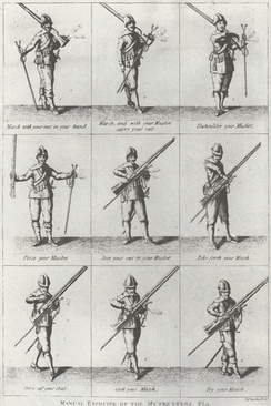 Drill manual for musketeers