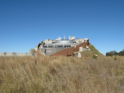 The Maropeng visitors centre at the Cradle of Humankind