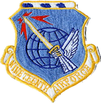 Nineteenth Air Force patch from the 1960s