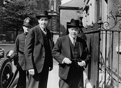 Norman Robertson and Mackenzie King, 1944