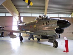 Danish North American F-86D Sabre