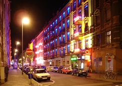 Often stereotyped as a financial city, Frankfurt is multifaceted, including the entertainment district at Bahnhofsviertel.