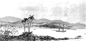 Tamatave bombarded and occupied by the French 11 June 1883.jpg