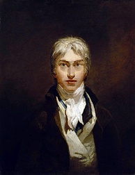 J. M. W. Turner self-portrait, oil on canvas, c. 1799