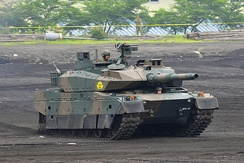 The Japanese Type 10 tank uses hydraulic mechanical transmission (HMT).