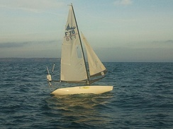 The autonomous sailboat robot Vaimos