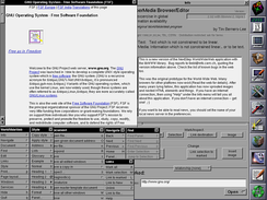 WorldWideWeb was the first web browser.[10]