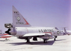 182d Fighter Interceptor Squadron - Convair F-102A 57-839