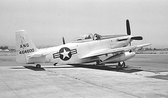195th Fighter Squadron F-51H Mustang 44-64600, 1952