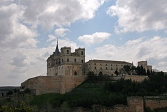 Monastery of Uclés, parent headquarters of the order, Cuenca Province, Spain