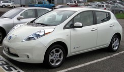 The Nissan Leaf is an all-electric car launched in December 2010