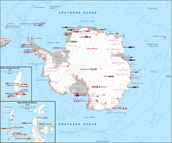 29 national Antarctic programmes together supporting science in Antarctica (2009)