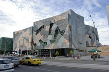 The Australian Centre for the Moving Image is a main venue for screenings and the 37ºSouth Market