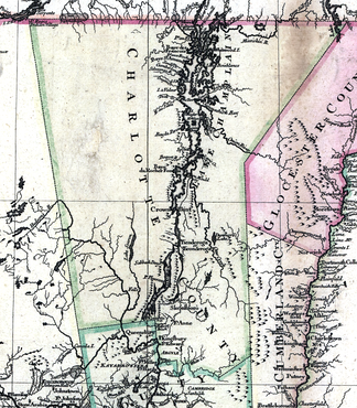 Charlotte County in 1777