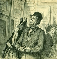 Honoré Daumier: Sunday at the Museum