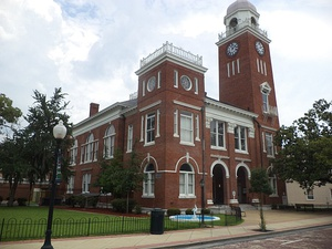Decatur County Courthouse in Bainbridge
