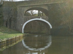 The Double Arched bridge (number 161) at East Marton
