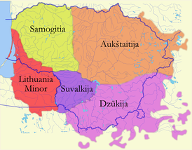 Historical ethnographic regions