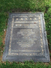 Grave of Gene Autry, at Forest Lawn Hollywood Hills.