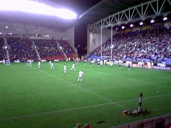 The final home Test for Great Britain against New Zealand in 2007