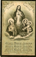 French holy card, 1890.[18]