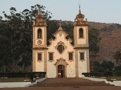 Catholic church of Uaco Cungo.
