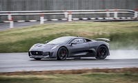 After being cancelled in 2012, the Jaguar C-X75 was recommissioned to appear in Spectre.