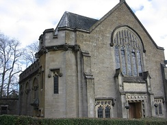 Chapel of Kingswood School, the world's oldest Methodist educational institution[55]