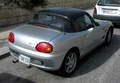 The Suzuki Cappuccino's unusual roof could be configured as a full convertible, Targa, or T-top
