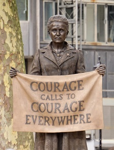 Statue of Millicent Fawcett in Parliament Square