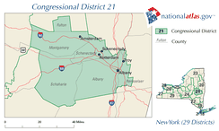 New York District 21 109th US Congress.png