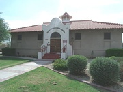The Peoria Central School was a two room school built in 1906. It is currently occupied by the Peoria Arizona Historical Society Museum located at 10304 N. 83rd Ave.  (NRHP)