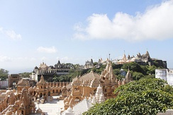 The temple town of Palitana is the world's first vegetarian-only city.