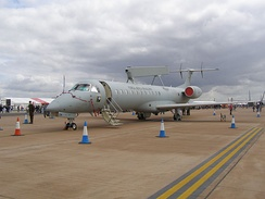 A Brazilian-made Embraer of Brazilian Armed Forces.