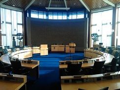 Boardroom of the local government in Hoofddorp