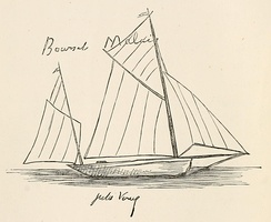 Sketch by Verne of the Saint-Michel