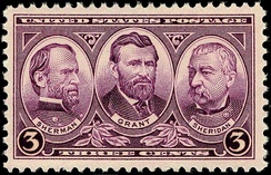 Generals Sherman, Grant and Sheridan, Issue of 1937