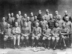 Commanding Officers and Chiefs of Staff of the Allied Military Mission to Siberia, Vladivostok during the Allied Intervention