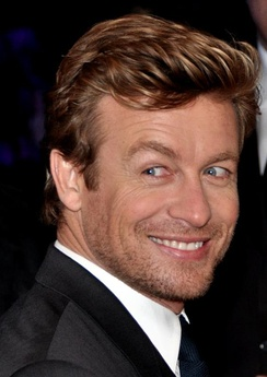 Lead actor Simon Baker in 2013