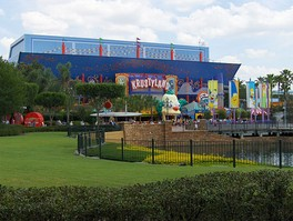 The Simpsons Ride at Universal Studios Florida.